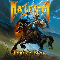 MAJESTY Thunder Rider Albumcover_web(1)